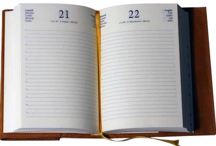 diary for order