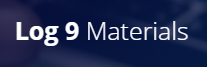 log 9 materials logo