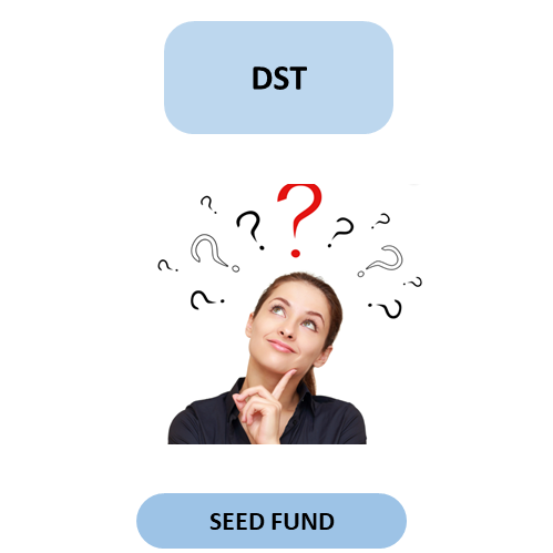 how to get seed fund from dst from a tbi