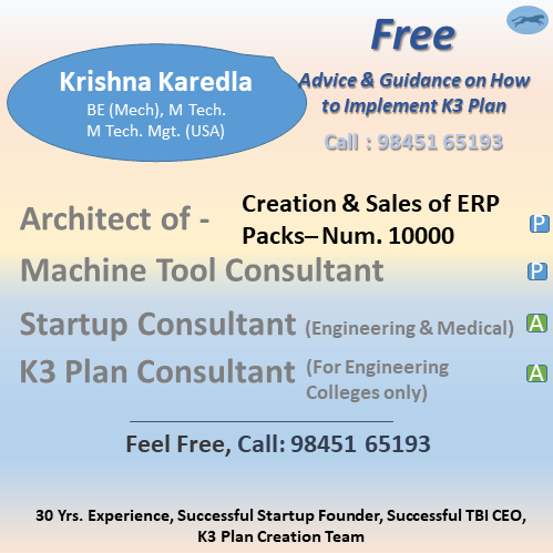 convey brief details about the author of this blog and k3 plan creator